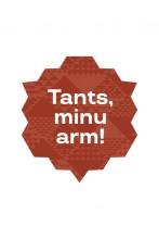Tants, minu arm! kleebis, pruun, 10cm