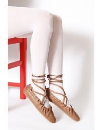 ECOCARE valged 3D 40DEN recycled naiste sukkpüksid rahvariiete juurde