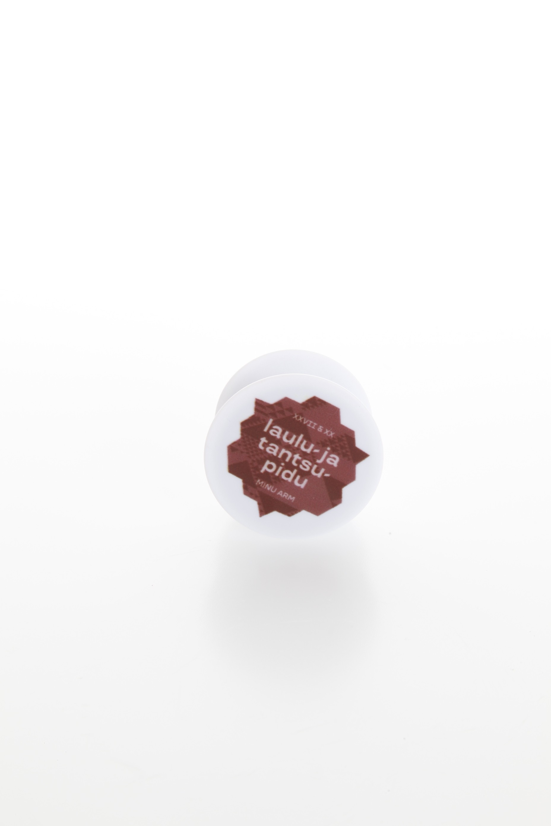 Brown PopSocket for a mobile phone