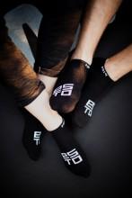 Black low-cut socks ESTO