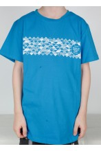 Children's blue T-shirt MUUSIKA (music)