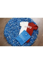 Rag rug made of Song Celebration T-shirts 110 cm
