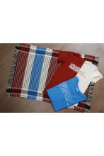 Rag rug made of Song Celebration T-shirts 70 x 100 cm