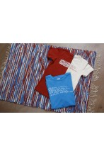 Rag rug made of Song Celebration T-shirts 80 x 115 cm
