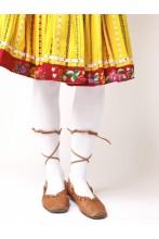 Хлопковые колготки KAISA, цвет: белый