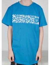 Детская футболка MUUSIKA (музыка), цвет: синий