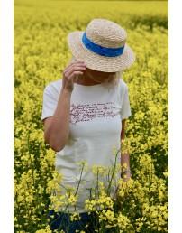 Женская футболка MINU ARM (моя любовь), цвет: бежевый